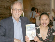 Brendan Lynch and his wife Margie at the launch of his memoir 'There Might Be A Drop of Rain Yet'.